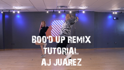 INT/ADV Hip Hop Tutorial: AJ Juarez - 'Boo'd Up' Remix