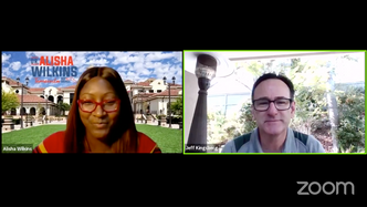 Distance Learning Town Hall with Dr. Alisha Wilkins and Jeff Kingsberg 9.15