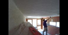 Plastering an Artex Ceiling Tignes , 2017