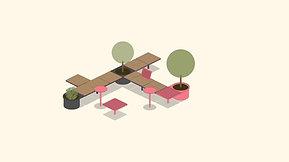 Pixel seating system