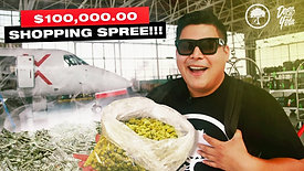 $100,000 WEED Shopping Spree (legally)
