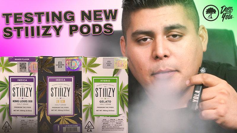 Testing New Stiiizy Pods