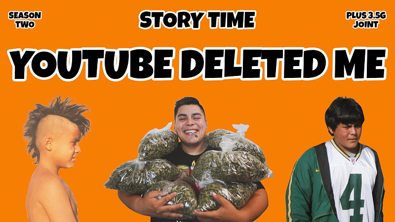 Youtube Deleted Me : Story Time