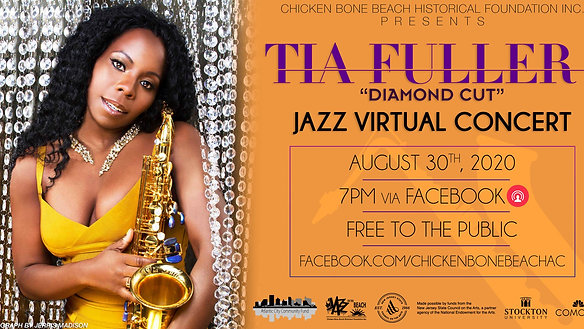 "Tia Fuller ""Diamond Cut"" Quartet - Chicken Bone Beach Jazz Festival"