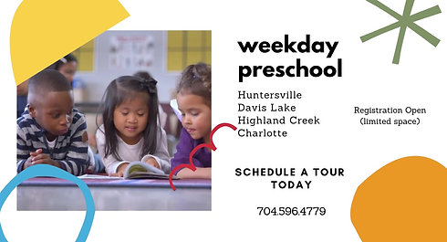 weekday preschool FB Ad 1