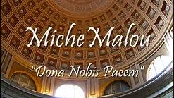 "MicheMalou - ""Dona Nobis Pacem"""