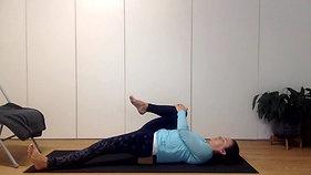 Yoga express - relax the psoas (hip flexors) release  | let go of stress| 30min