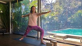 Gentle yoga - shoulders & legs | focusing our attention inside | 75min