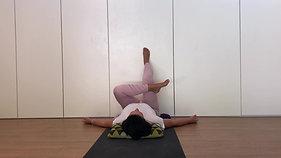 Yoga express - yin at the wall | legs & hips | 30min