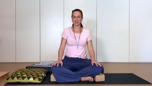 Meditation - tutorial - how to find a comfortable seat | 12min