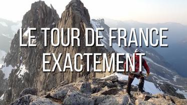 Le tour de France exactement