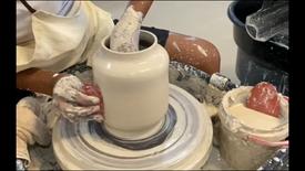 Throwing a Vase/Lantern