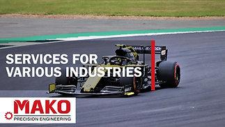 CNC Machining for a range of industries - Mako Precision Engineering Ltd.