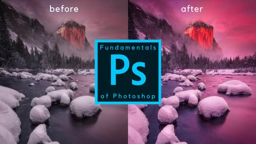 Fundamentals of Photoshop Trailer