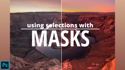 Using Selections with Masks Sample