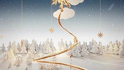 Navidad Logistic Line 2020 dorado