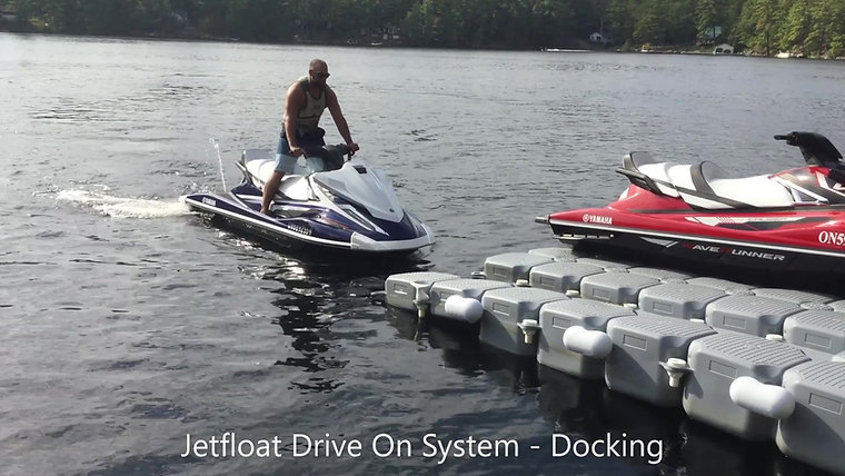 Jetfloat Drive On Systems