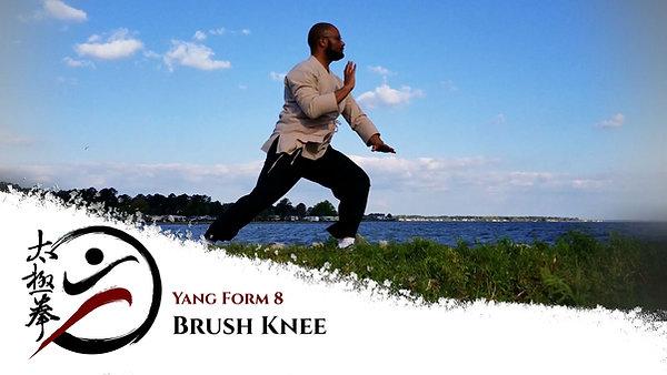 Step 2 (Slow) - Brush Knee