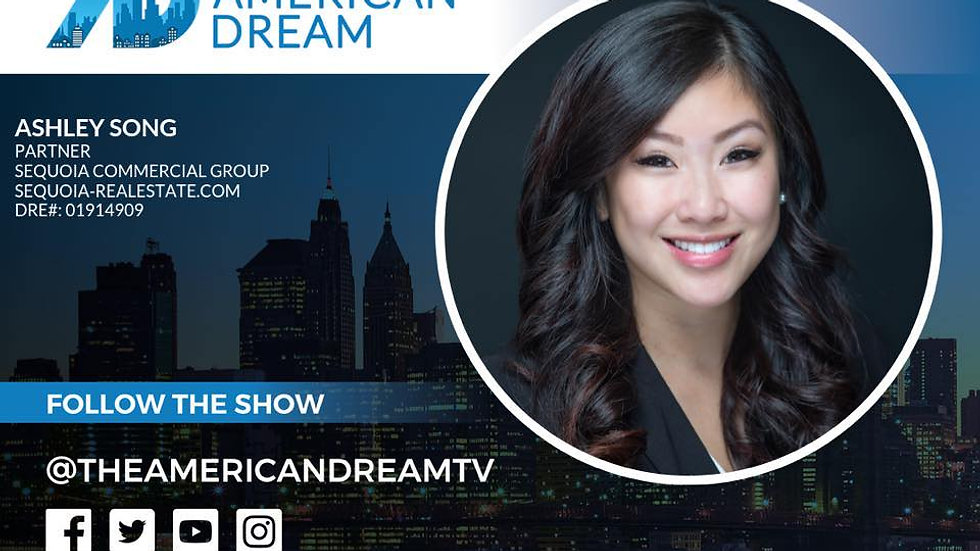 Ashley Song on the American Dream TV