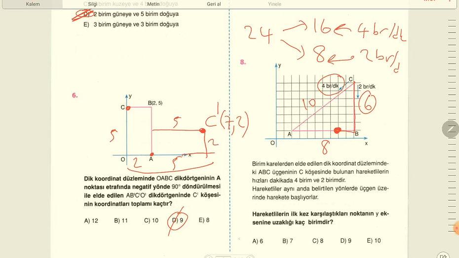 7.Gün Geometri (1-16)