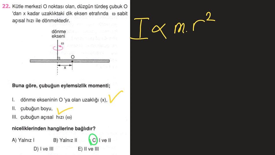 Fizik 4.Gün Ayt (1-40)