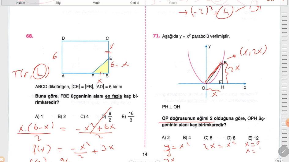 Matematik Ayt 1.Gün  (46-91)