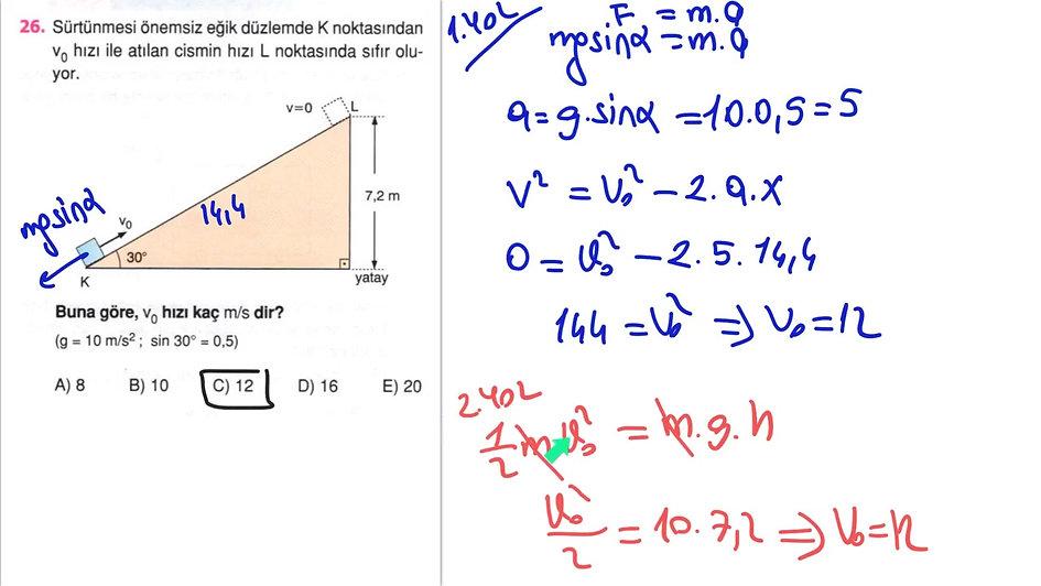 Fizik Ayt 1.Gün (1-51)