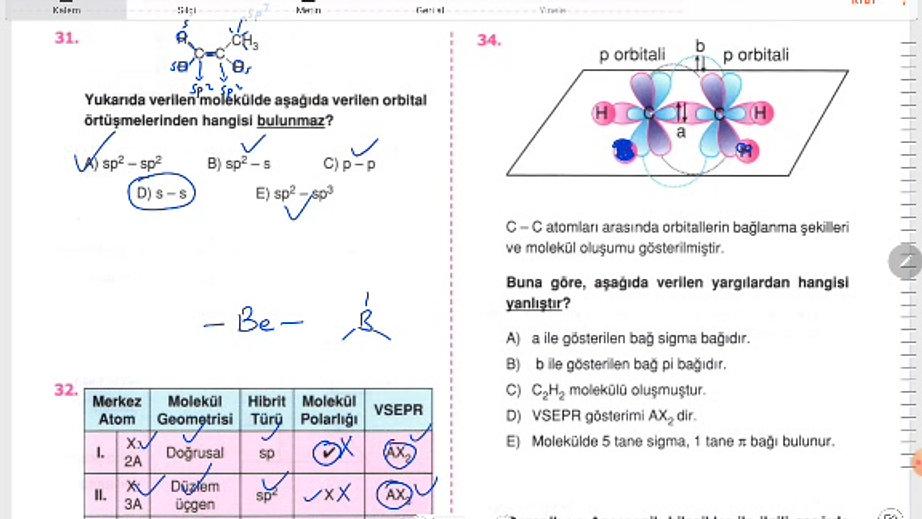 Kimya 6.gün (31-36)