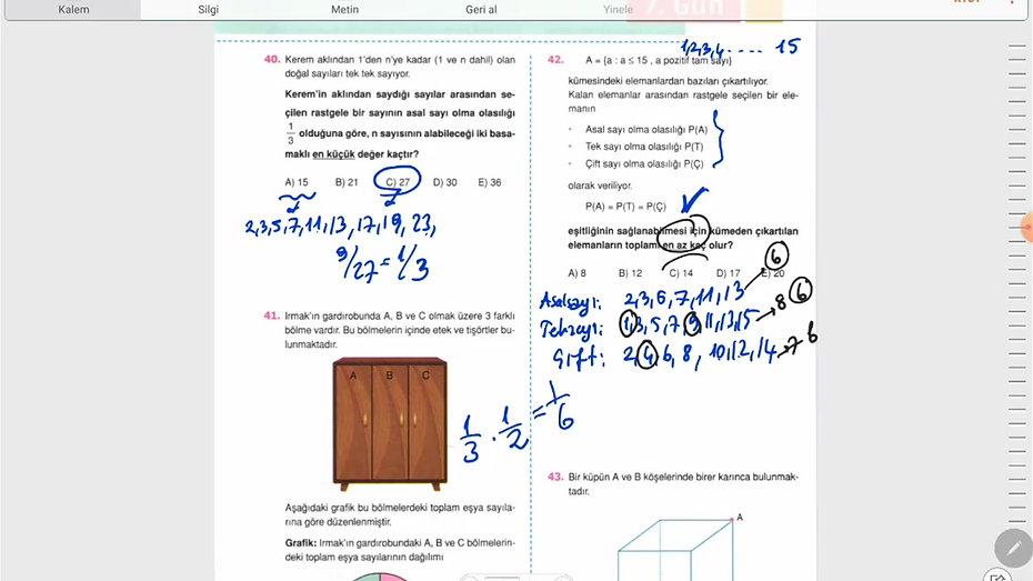 Matematik 7.Gün