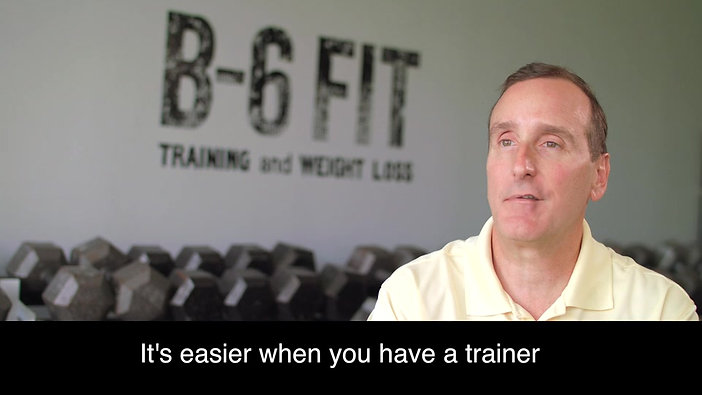 Jerry Mullinax - I would recommend B-6 Fit to anybody looking to improve their health.