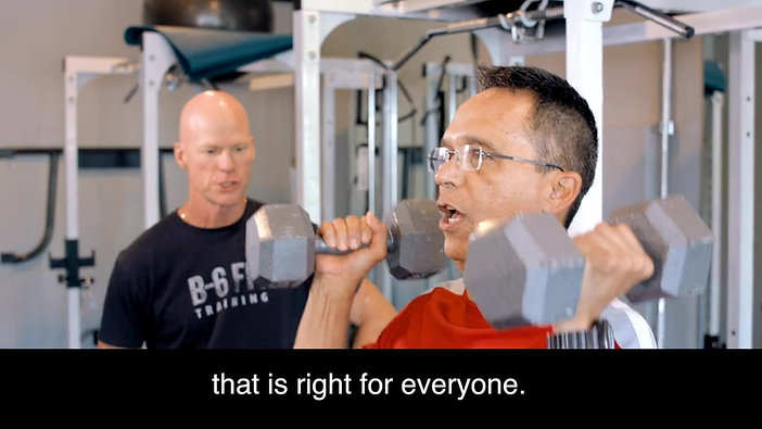 Eddie Braga - B-6 Fit is one of those great training gyms that is right for everyone.