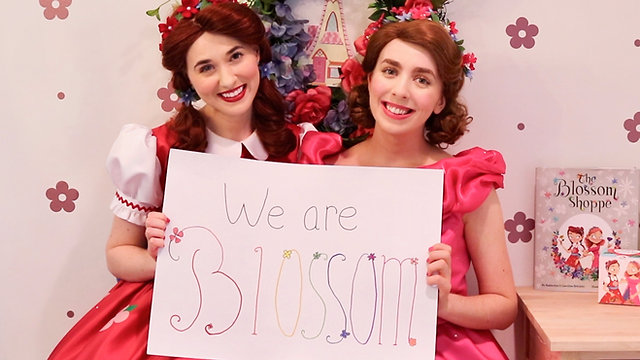 """The Blossom Shoppe"" YouTube Channel Series - Poppy & Posie's Wonderful, Colorful YouTube Show"