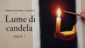 Lume di candela a pastello - Parte 1