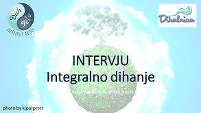 Intervju: integralno dihanje