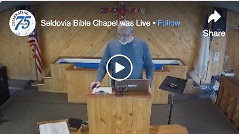 Seldovia Bible Chapel on Facebook Watch