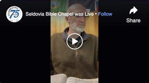 Seldovia Bible Chapel February 24 Prayer & Praise