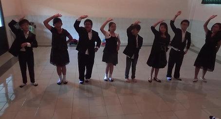 SD Santa Maria Practicing Mandarin Song Laoshi Diana BBM