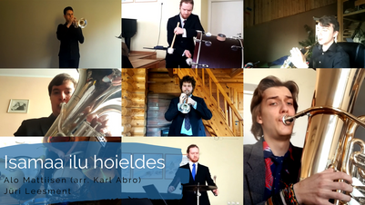 "Tuulisbrass Virtual Band 4 - ""Isamaa ilu hoieldes"""