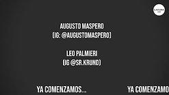 Augusto Maspero y Leo Palmieri