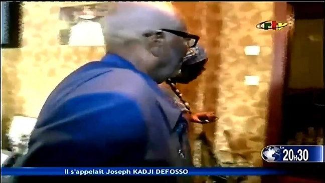 Journal télévisé CRTV, Hommage à KADJI DEFOSSO