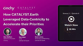 [Season 2 Ep. 6] How CATALYST.Earth Leveraged Data-Centricity to Accelerate their Priorities