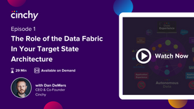 Episode 1: The Role of the Data Fabric In Your Target State Architecture