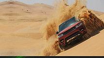 Range Rover Sport  Empty Quarter Driven Challenge