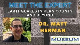 Meet the Expert: Dr. Matt Herman, Geology, 09/23/2021