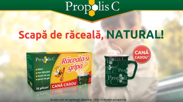 Propolis C - Raceala si Gripa