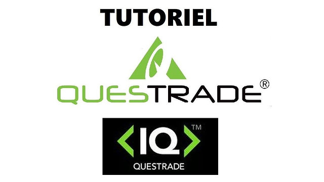 TUTORIEL QUESTRADE IQ EDGE. COMMENT CA MARCHE,COMMENT S'INSTALLER ET VOIR LES OPTIONS