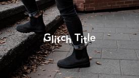 Glitch Title