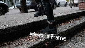 Animate in Frame Title Sample