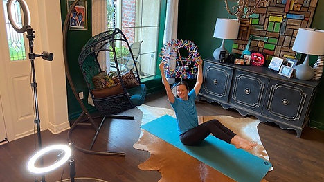 Yoga Paint Story Time