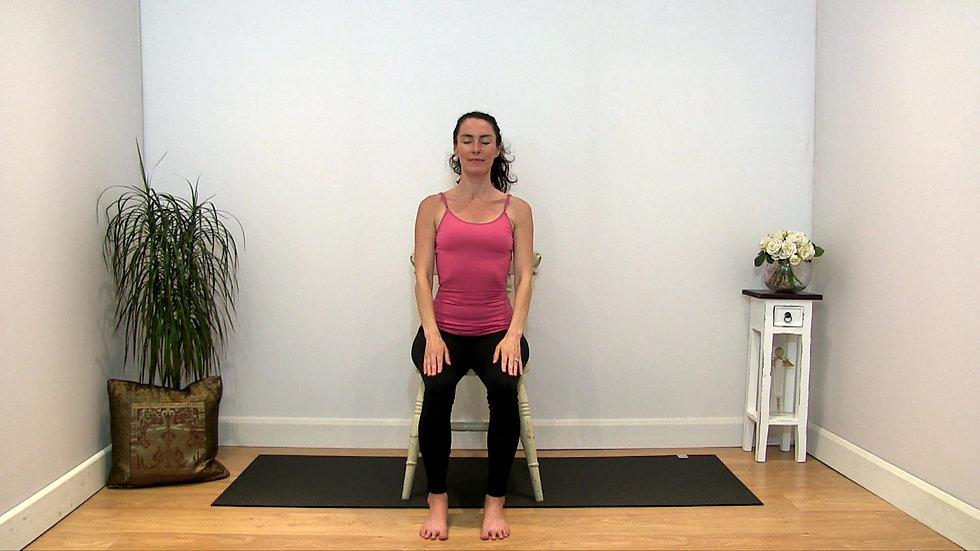 Placenta Preiva Yoga Arm Raises